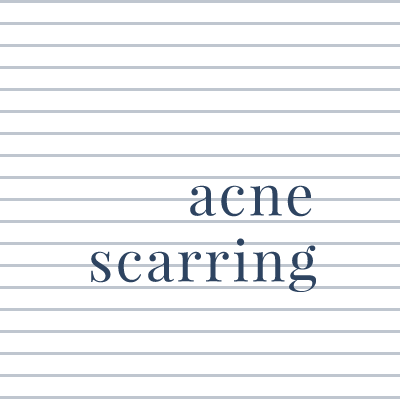 Treatments for acne and scarring