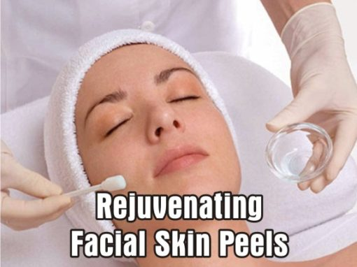 Peels to rejuvenate skin and treat excess Pigmentation